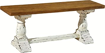 Amazon Com Casual Elements Trestle Dining Handmade Bench 45 Table Benches