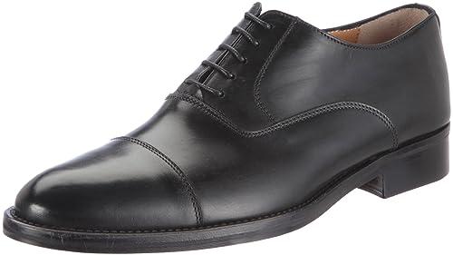 Florsheim RUSSELL 50724-01 - Zapatos de cordones para hombre, color negro, talla EU 41.5/US 7.5