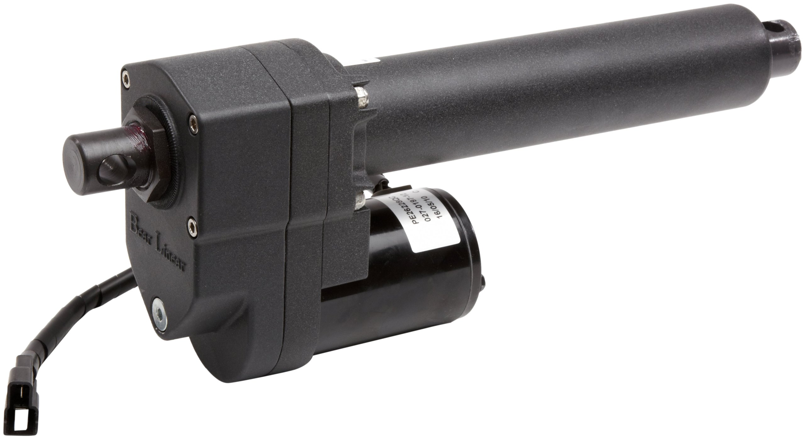 Warner Linear K2xG20-12v-06 B-Track K2 6'' Stroke Length Rugged Duty Actuator