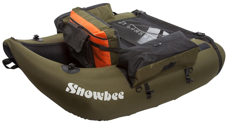 Talla /única Snowbee Unisex Classic Kit de Tubo de Flotador Color Verde//Negro