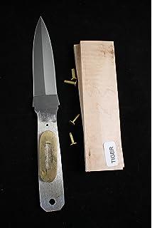 Amazon.com: 8.5 inch Drop Point cuchillo Kit/bricolaje ...