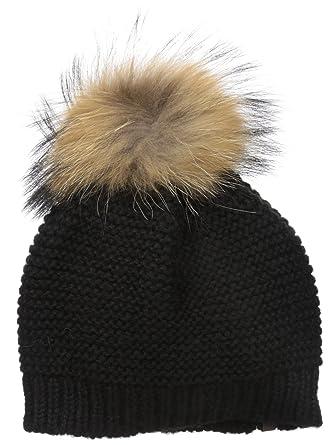 6faee510f32 Amazon.com  RUDSAK Women s Rory Fur Pompom Hat