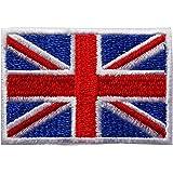 WAPPEN/アイロン貼付ワッペン 世界の国旗/フラッグ SSサイズ (イギリス)