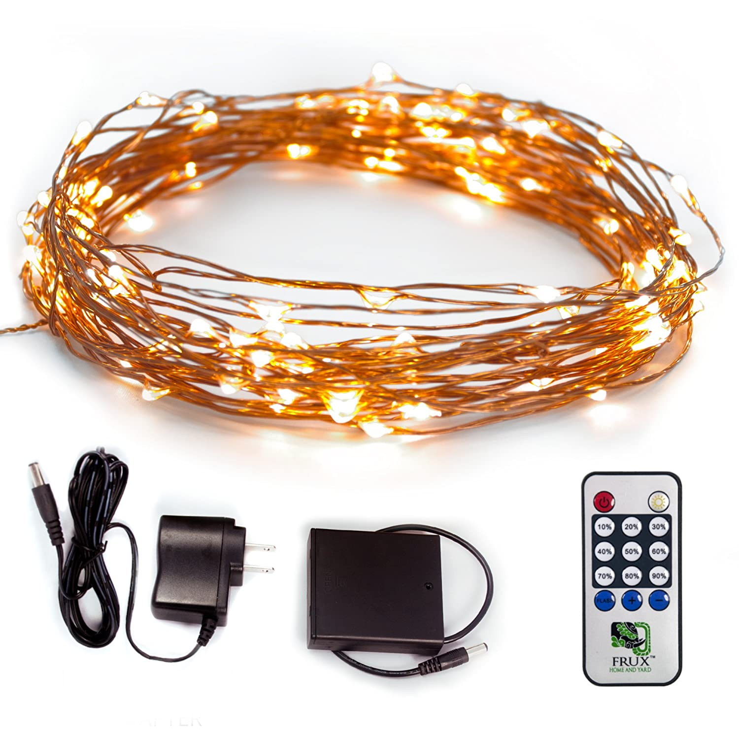 Fairy Star LED String Lights Extra Long 39ft Warm White Twinkle