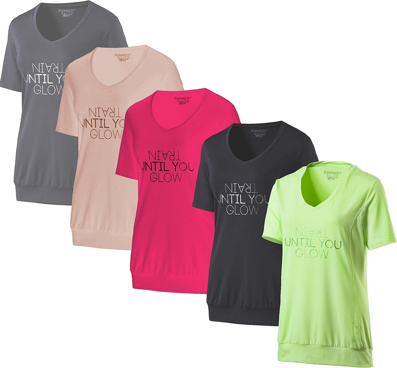 280882-002 Energetics Damen Fitnes T-Shirt Gaprila in weiß    SALE!!!!