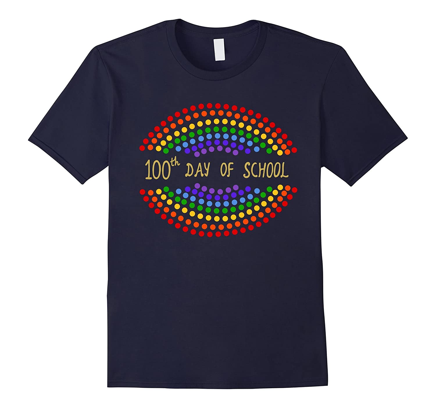 100th Day of School T-Shirt for Teachers and Kids-ah my shirt one gift