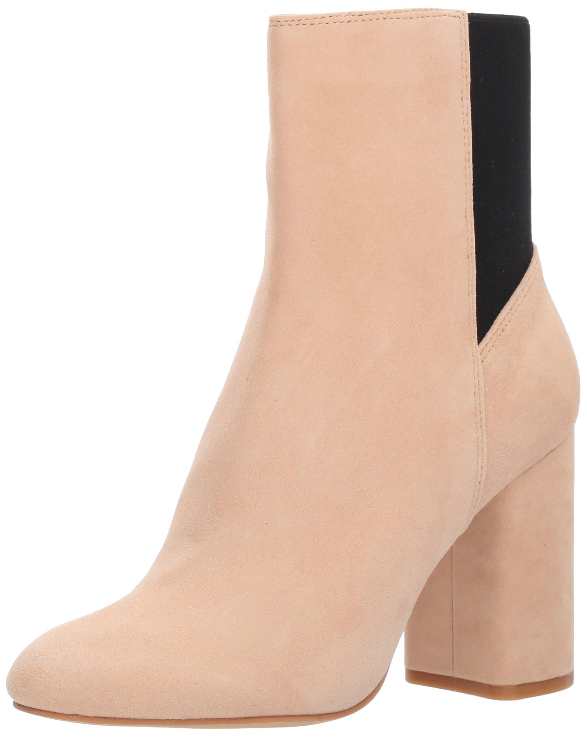 Dolce Vita Women's Ramona Fashion Boot, Blush Suede, 8 Medium US