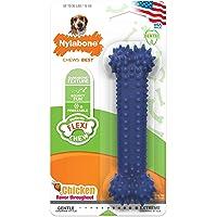 Nylabone Dental Chew Wolf Original Flavored Bone Dog Chew Toy
