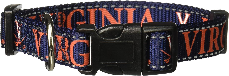 Pet Goods NCAA Virginia Cavaliers Dog Collar Medium