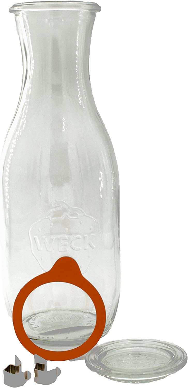 Weck 290 ML Bocal Forme Bouteille