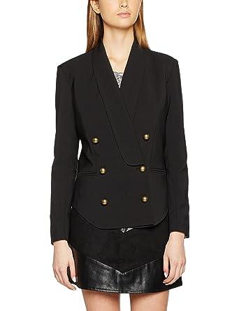 Mercey, Veste de Costume Femme, Noir (Black 001), 44Wyldr