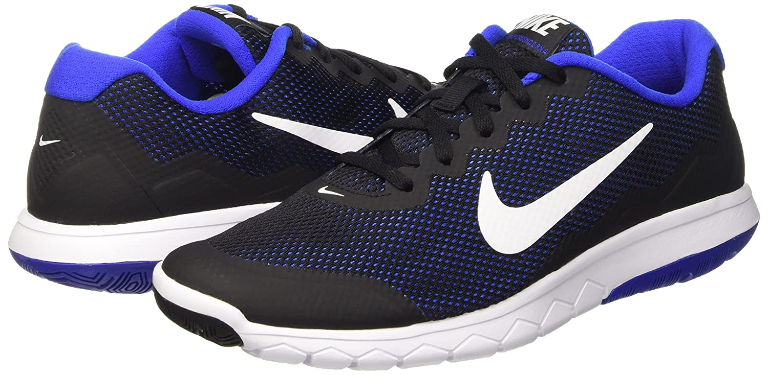 NIKE Running Men's Flex 2014 RN Running NIKE Shoe B010OBBQUC 8 D(M) US|Black/Racer Blue/White d07ab2