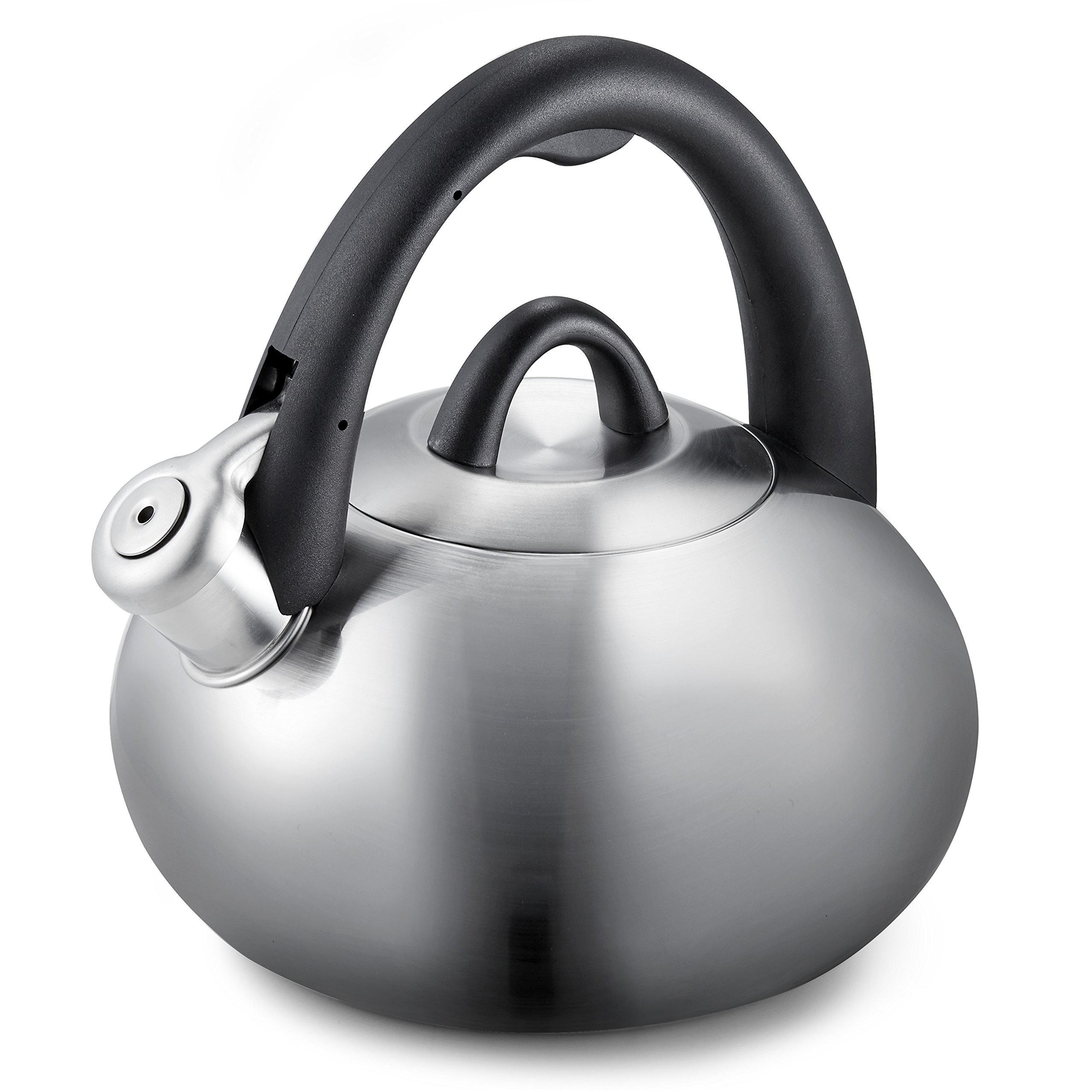 Calphalon 2-Quart Stainless Steel Tea Kettle with Whistle by Calphalon