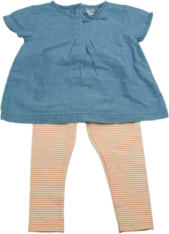100%安い Carter 's 2-pc Carter Baby Girl Long半袖デニムシャツwithレギンスブルー/オレンジ 12 's 2-pc Months B01IDPY1QC, THE BAG GALLERY バッグギャラリー:bbed6c0a --- a0267596.xsph.ru