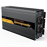wechselrichter reiner sinus 1500 3000W spannungswandler 12V 230V inverter pure sine wave