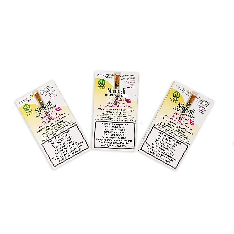Buy Nirdosh Herbal Cigarettes For Smoking Cessation - 3 Packs