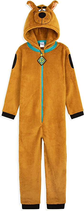 One Piece Hausanzug Geschenke f/ür Erwachsene Scooby Doo Jumpsuit Herren Fleece Overall Kost/üm mit 3D Kapuze Einteiler Onesie f/ür M/änner und Jungs