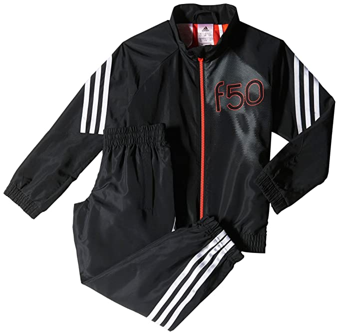 Adidas YB F50 WV TS - Chándal para niño, Color Negro/Blanco/Rojo ...
