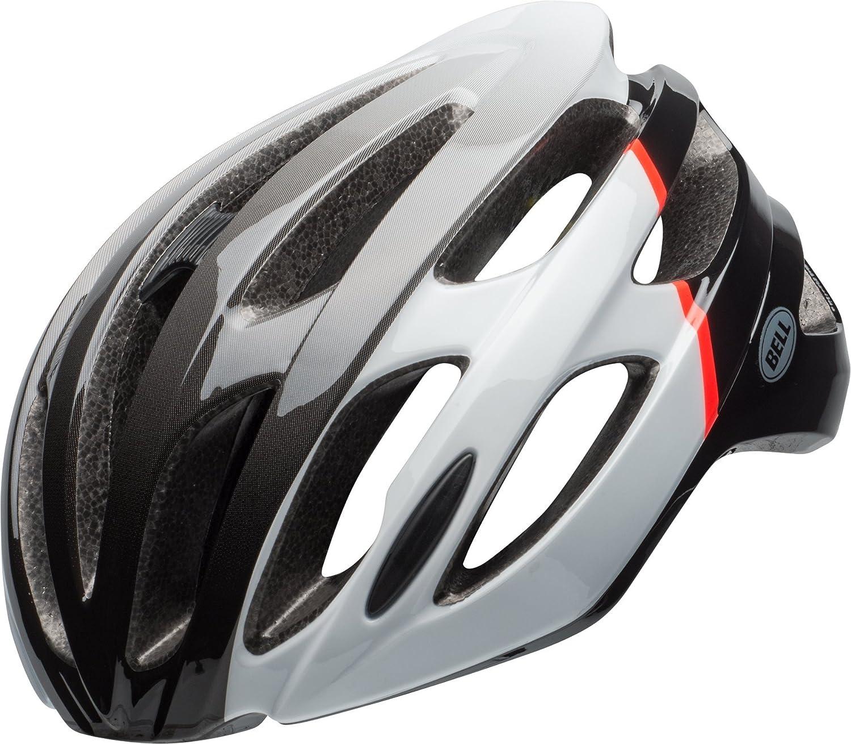 BELL Falcon MIPS Rennrad Fahrrad Helm weiß schwarz rot 2018