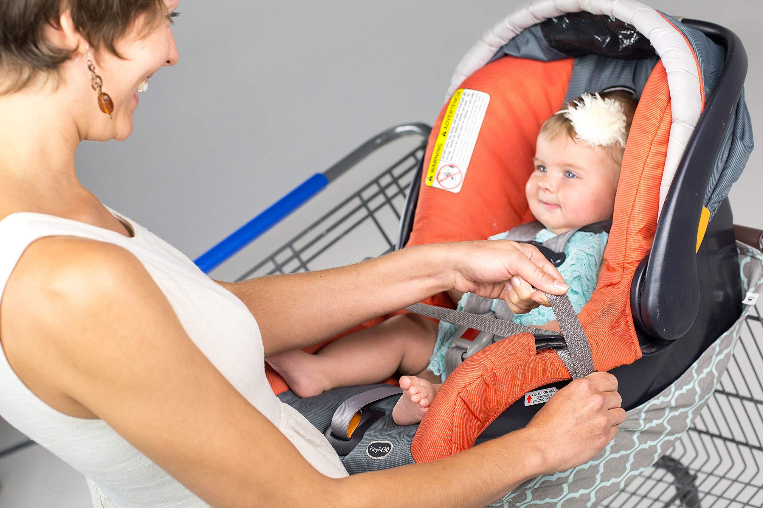 BINXY BABY Shopping Cart Hammock | The Original | Ergonomic Infant Carrier + Positioner by Binxy Baby (Image #8)