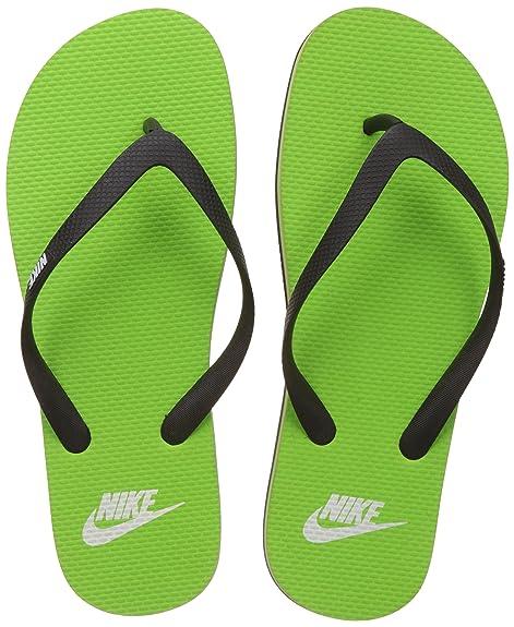 72e0e454630 Nike Men s Aquaswift Thong Black and White Flip-Flops and House ...