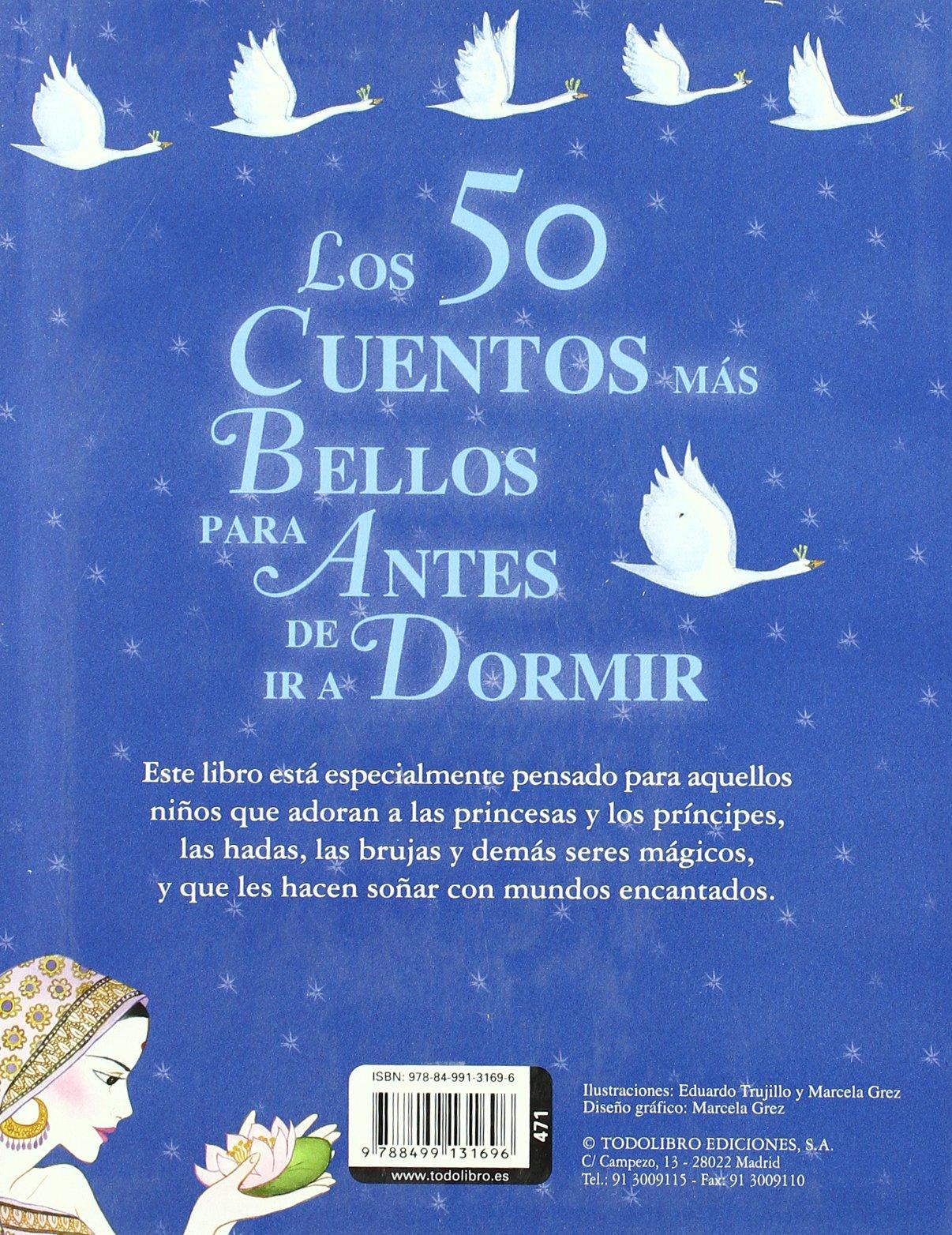 Los 50 cuentos más bellos para antes de ir a dormir (Mis primeros libros) (Spanish  Edition): S. A. Susaeta Ediciones: 9788499131696: Amazon.com: Books