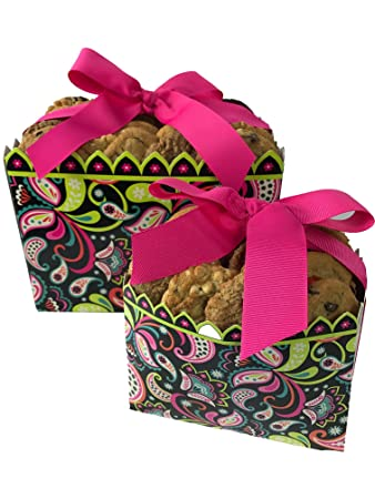 Amazon cookies from home woodland whimsy gift box freshly cookies from home woodland whimsy gift box freshly hand baked cookie and brownie gift pack negle Images