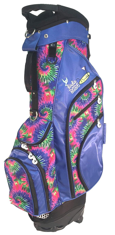 Birdie Babe Womens Hybrid Golf Bag Blue Tie Dye Ladies – Kool Karma 2.0