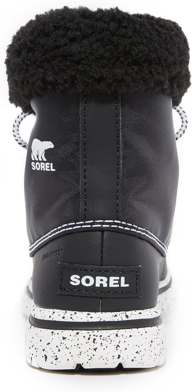 Sorel Cozy Carnival, Scarpe da Ginnastica Alte Donna Nero Black Sea Salt 010black Sea Salt 010