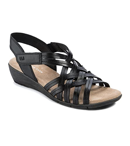 b384ae4dcfe Wear.Ever. Fannie Women s Sandals   Flip Flops Black Size 6 M (WR11875