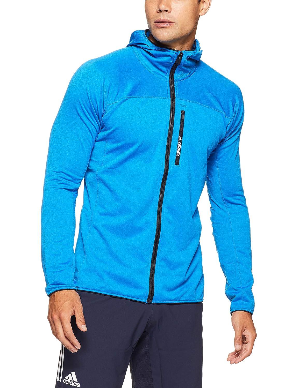 enfermero En respuesta a la Por ahí  adidas Men's Terrex Tracerocker Hooded Fleece Jacket: Amazon.co.uk ...