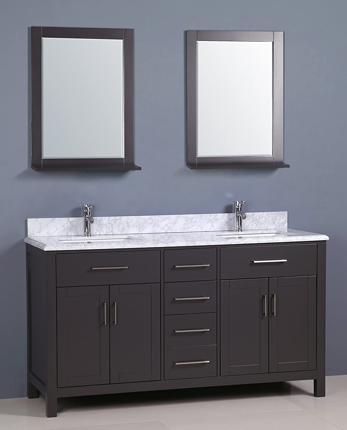 Phenomenal Golden Elite 60 Carrera Bathroom Vanity Grey Amazon Com Interior Design Ideas Pimpapslepicentreinfo
