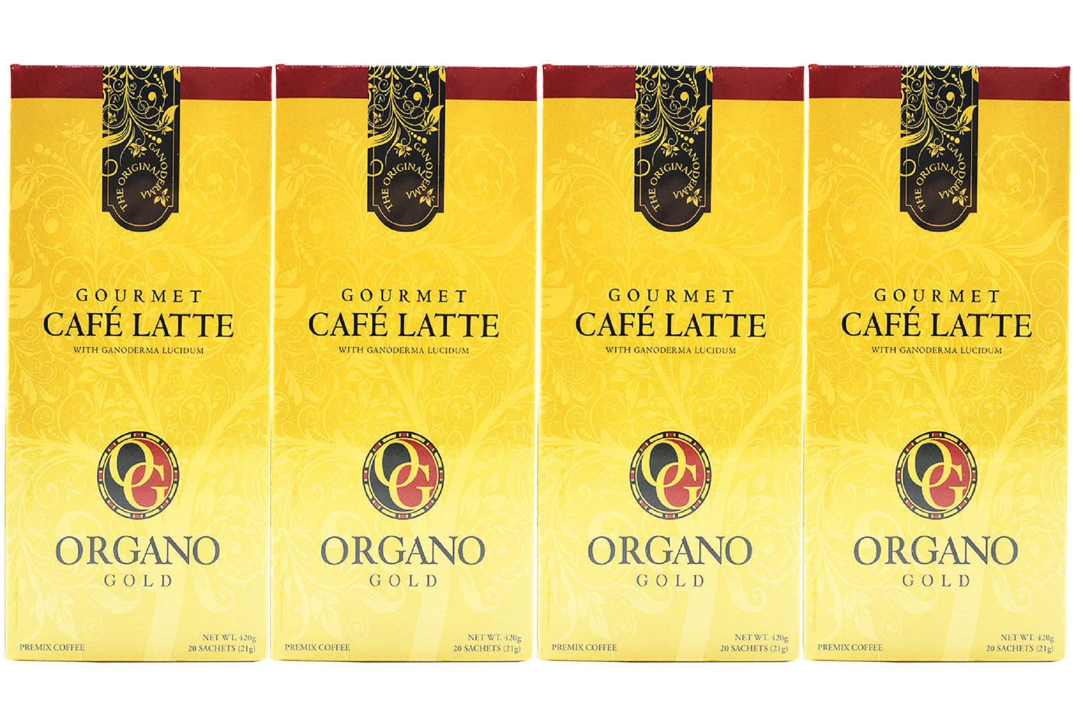 4 Box 100% Certified Organic Organic Ganoderma Gourmet Organo Gold Cafe Latte Offer Free Express