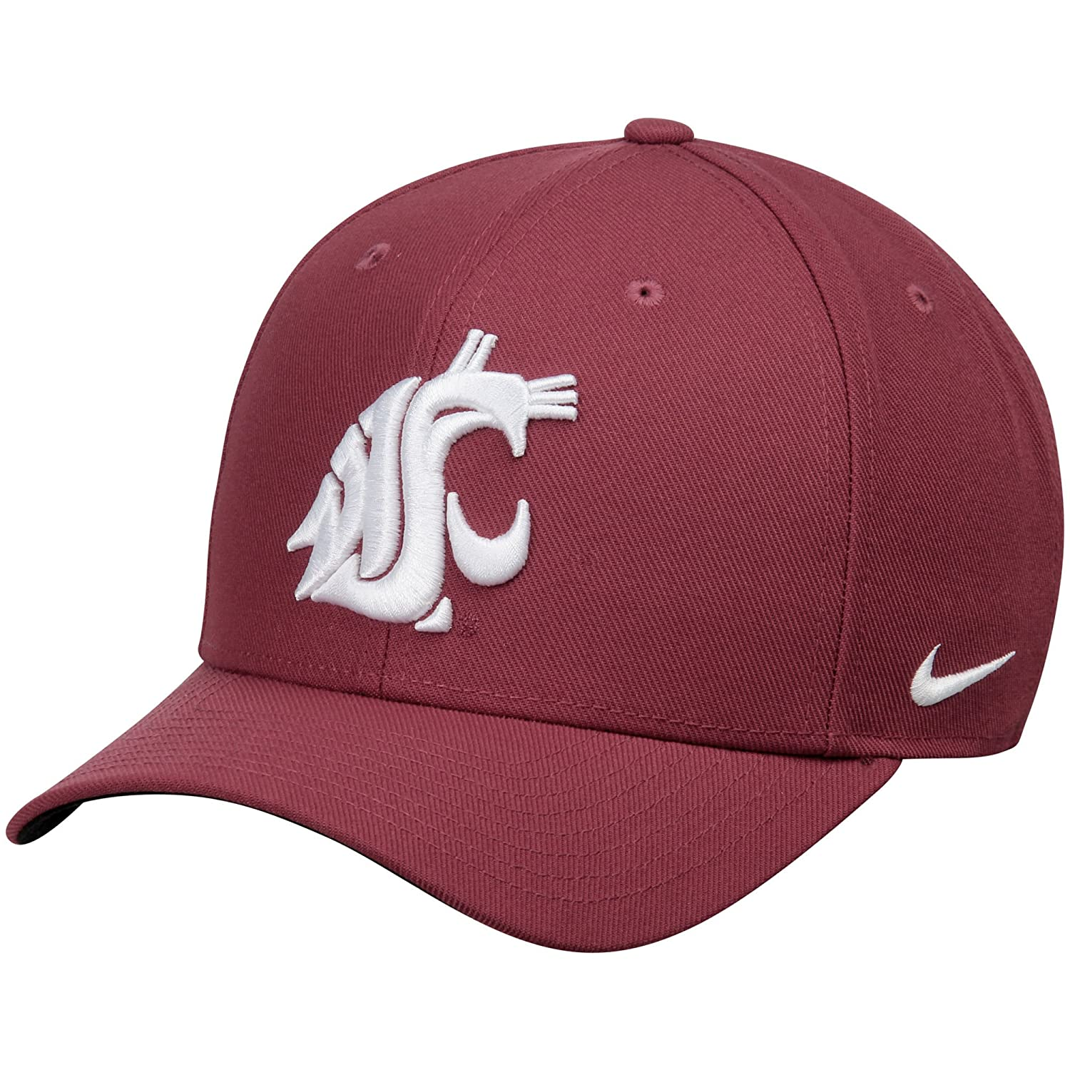 quality design 72847 18176 ... norway amazon nike washington state cougars wool classic performance  adjustable hat crimson sports outdoors a6b5a a567a