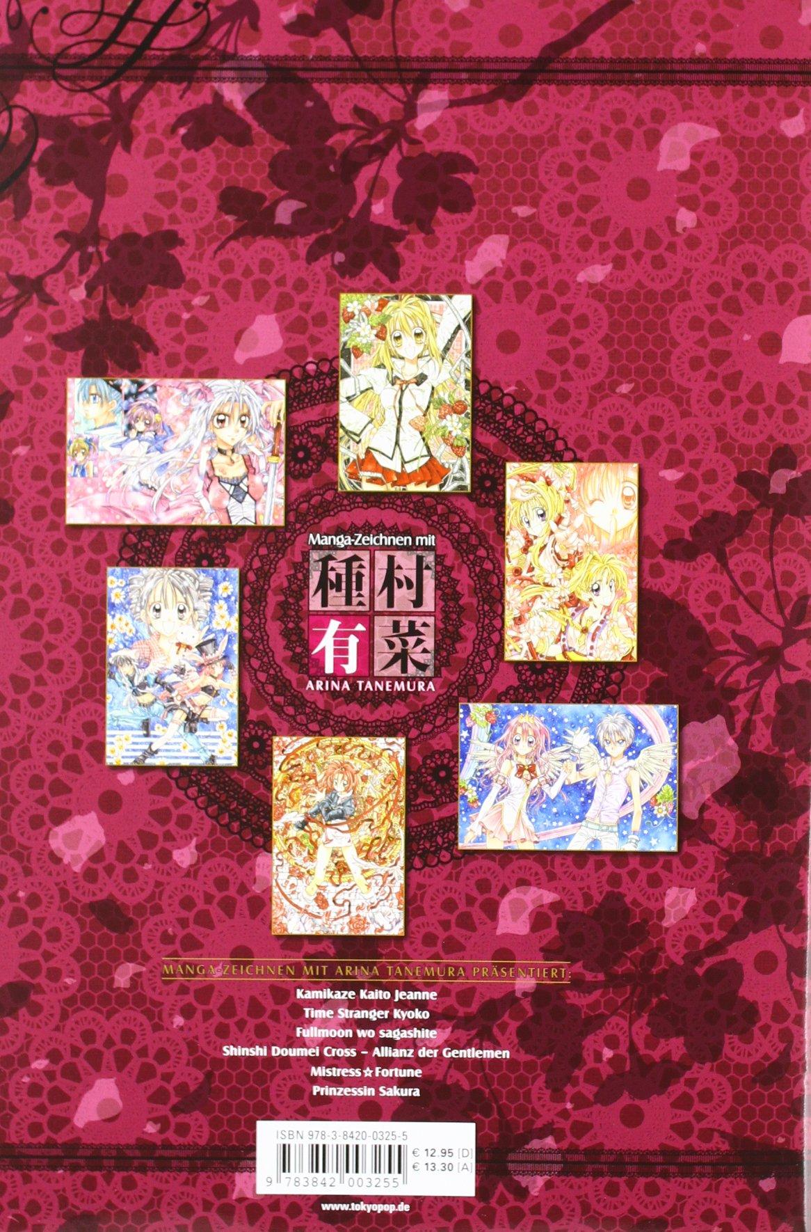 Manga Zeichnen Mit Arina Tanemura Amazonde Arina Tanemura Bücher
