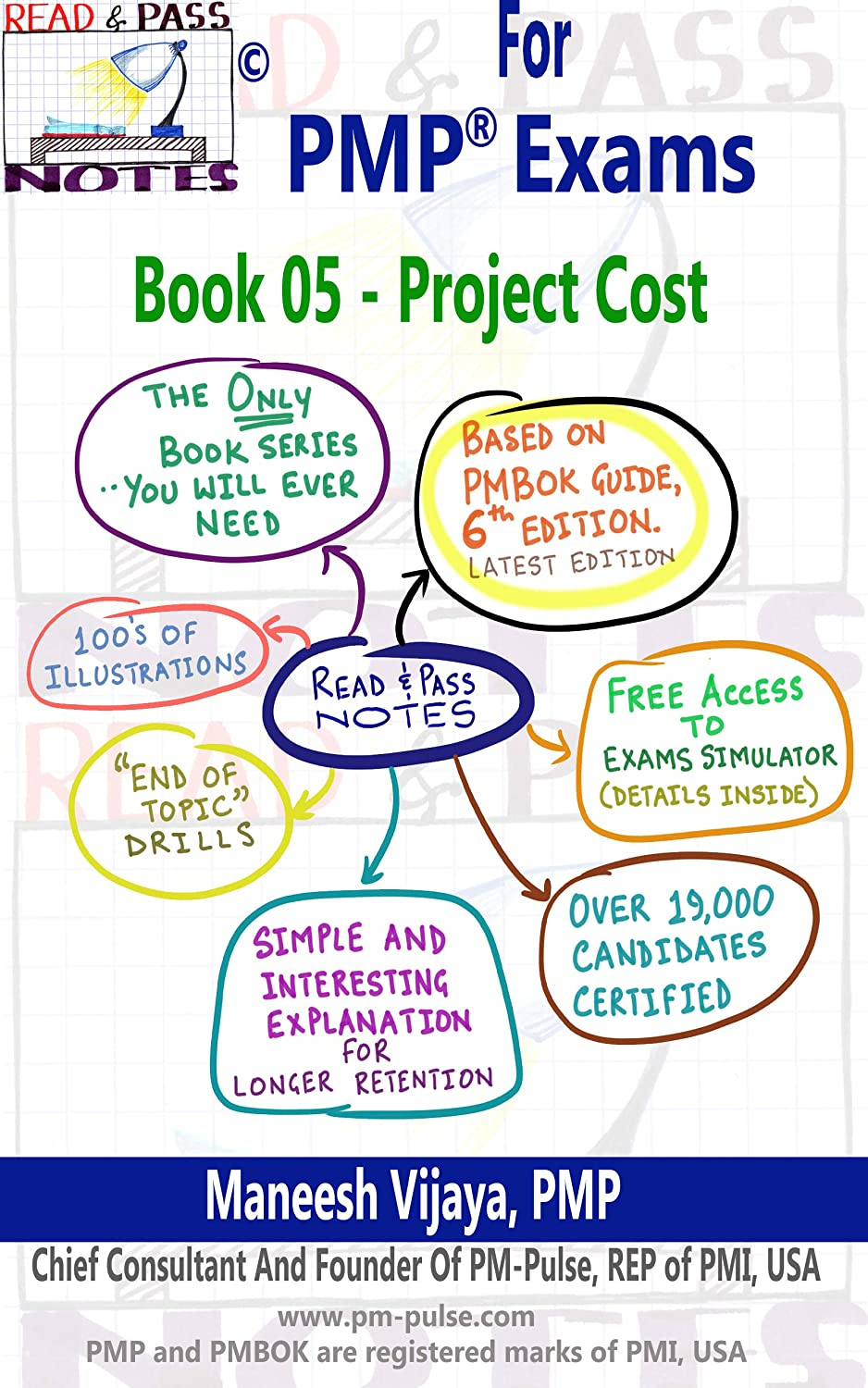 PMP Exams - Book 05 - Project Cost Mgmt  (Based on PMBOK