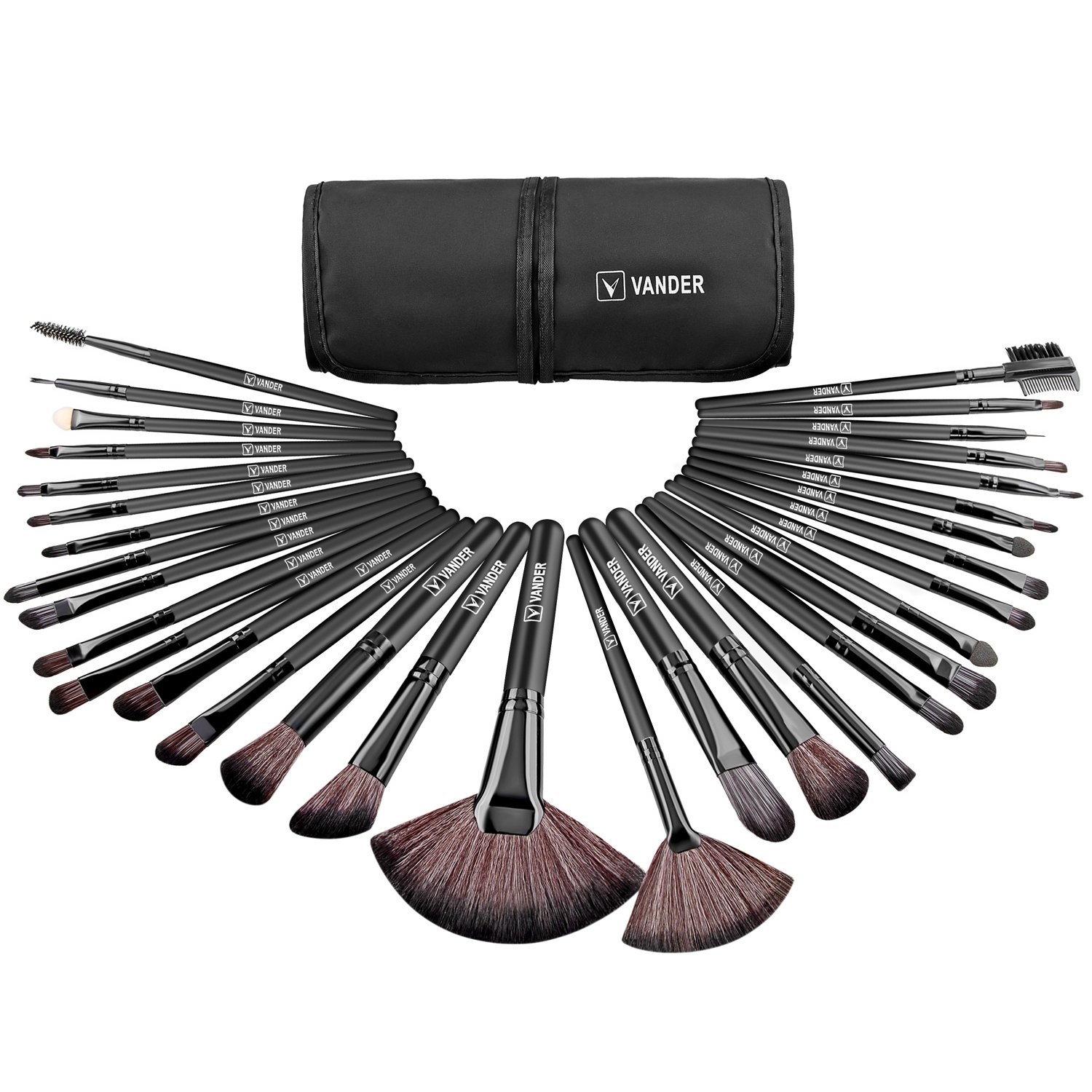 Amazon.com: VANDER Makeup Brushes 32 Pieces Professional ...
