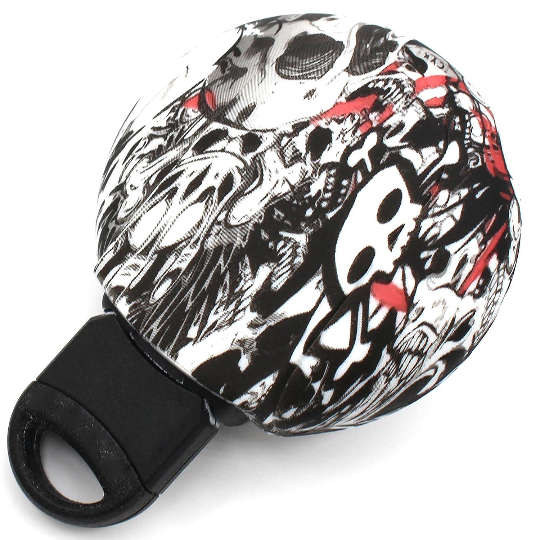 con 3 pulsanti Finest-Folia cover di silicone .Stickerbomb custodia portachiavi MIB con targhetta per le chiavi dell/'auto