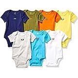 Amazon Essentials Baby 7-Pack Short-Sleeve Bodysuits