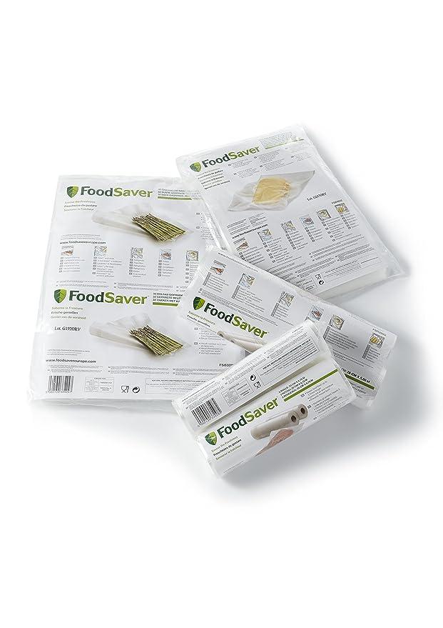 Amazon.com - Food Saver FSB3202-I Sacs pour Appareil de Mise Sous Vide 32 Sacs de 3, 78 L -