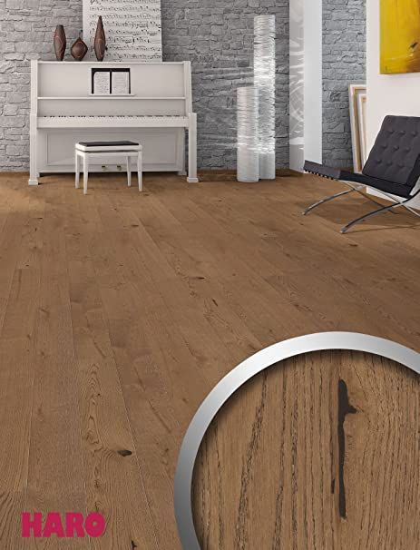 Haro Parquet 4000 Textured Top Connect Country Home Floorboards 2 V