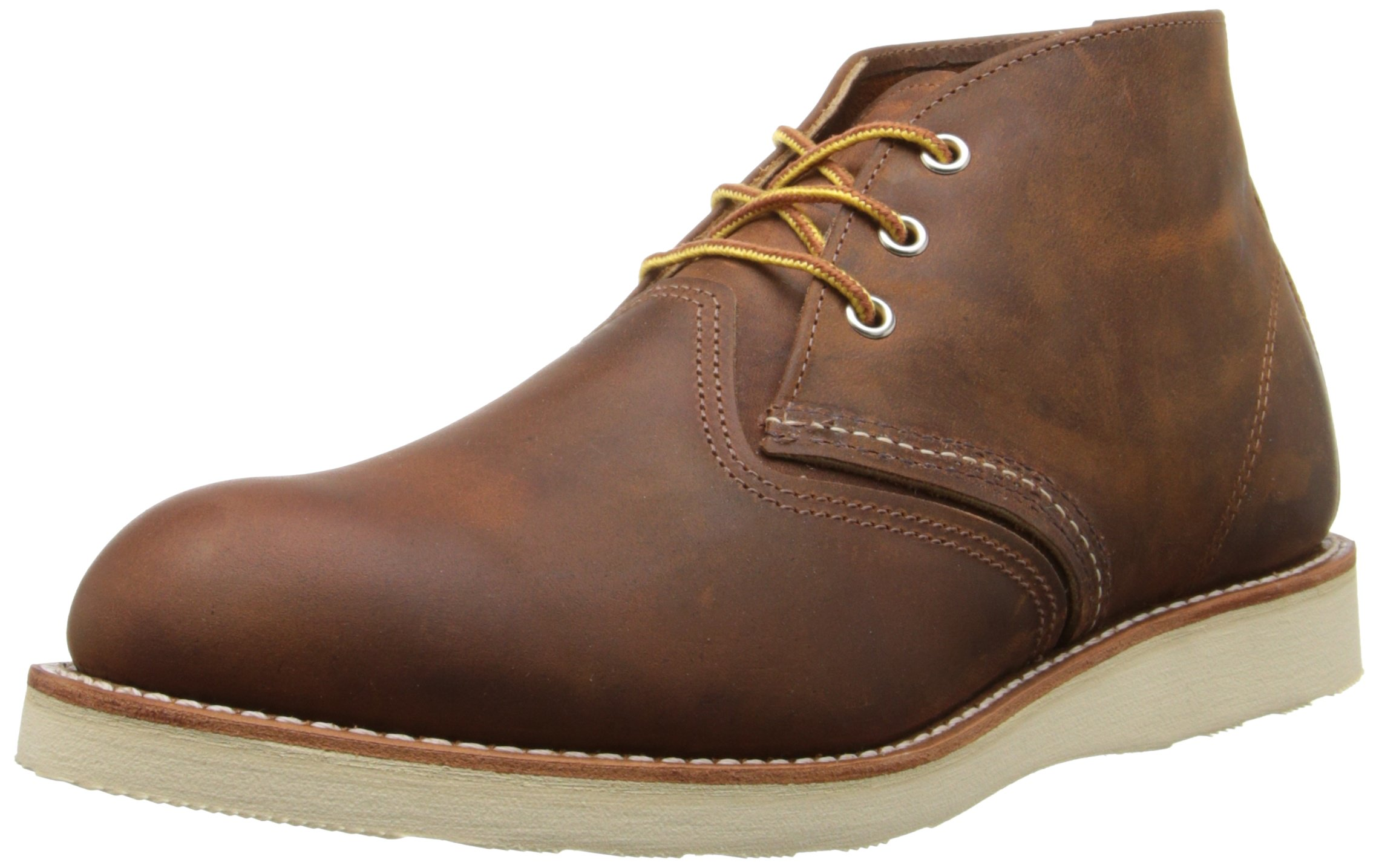 Red Wing Men's Heritage Work Chukka Boot, Copper Rough And Tough, 9.5 D(M) US