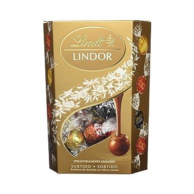 Lindt - Bombones Lindor Cornet Surtido, 500 g