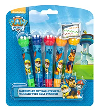Undercover pput0740 rotuladores con Roll Sello, Paw Patrol ...