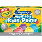 Crayola Paint and Clay Washable Metallic Paints
