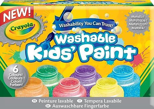 8 opinioni per Crayola- Tempere lavabili per bambini, colori metallici