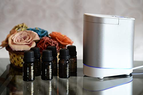 Smiley Daisy® Gardenia Nebulizing Essential Oil Diffuser