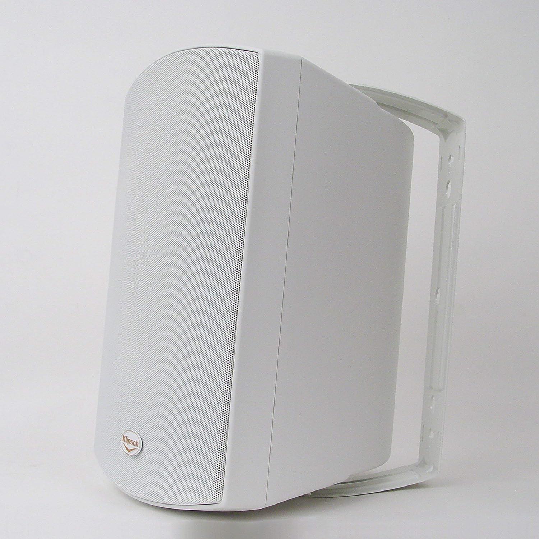 Klipsch AW-650 Indoor//Outdoor Speaker Pair White Renewed