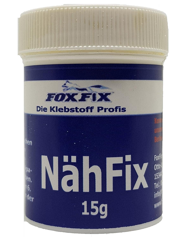nähfix–Le nähpulver Allemand–La colle Textile pour thermocollant de Rustine FoxFix