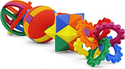 Magic Cube Kid Brain Teaser Puzzle Game Educational Development Toys 2.5/'/'